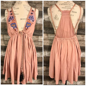 Free People Lover Cove Mini in Dusty Mauve