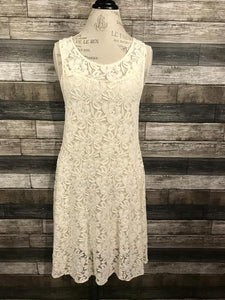 Free People Miles of Lace Dress in Cream