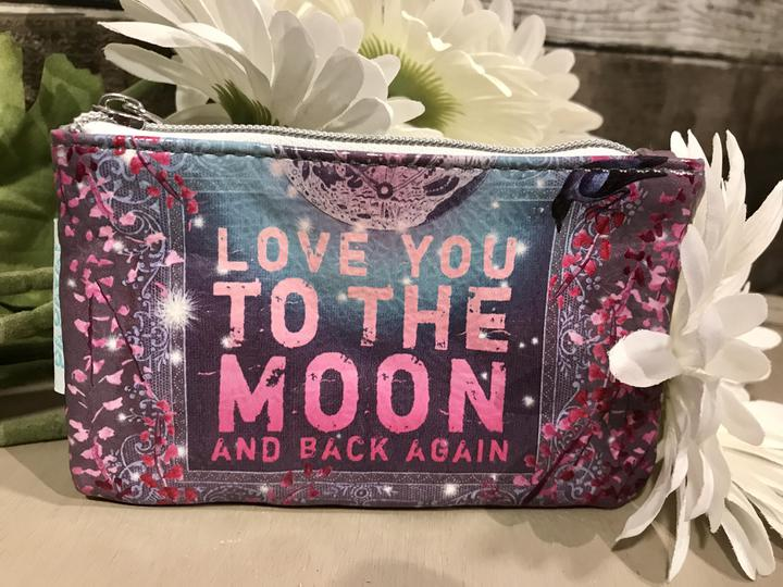 To The Moon And Back Coin Purse