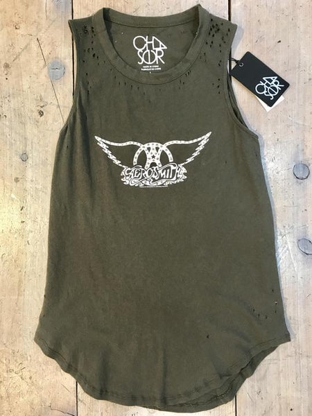 Chaser Aerosmith Tank in Canteen