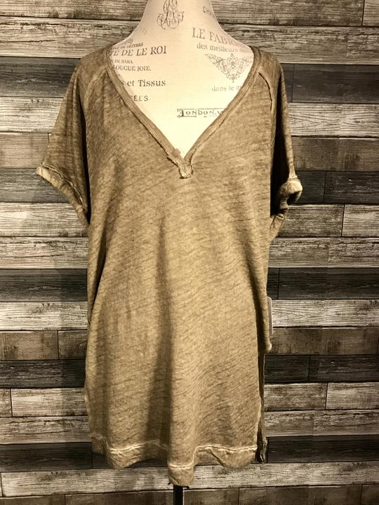 Free People Diego Tee in Army