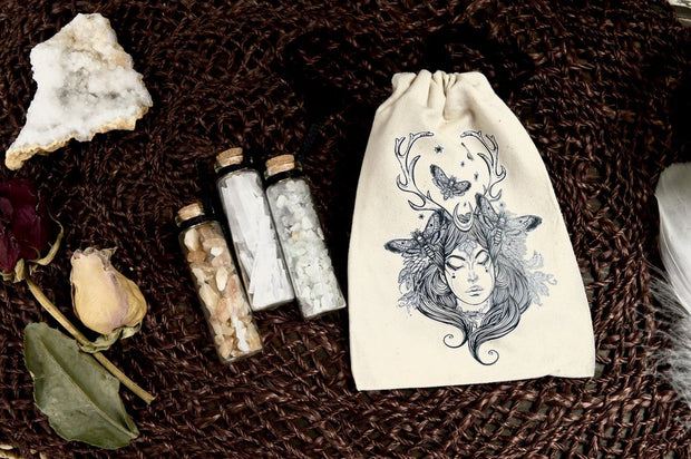 Crystal Vial Trio