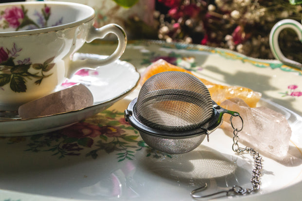 empty tea ball strainer