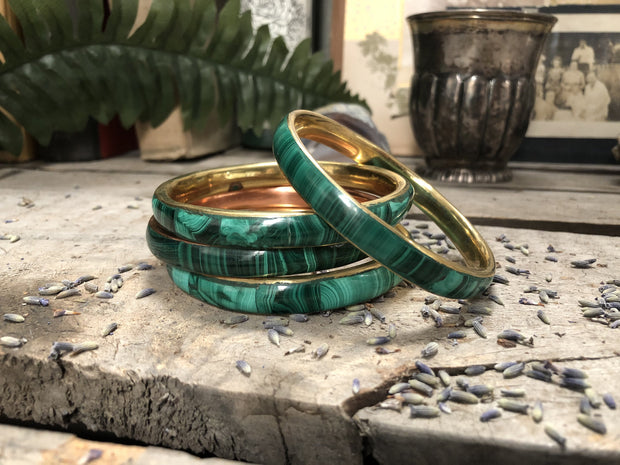 Malachite Bangle