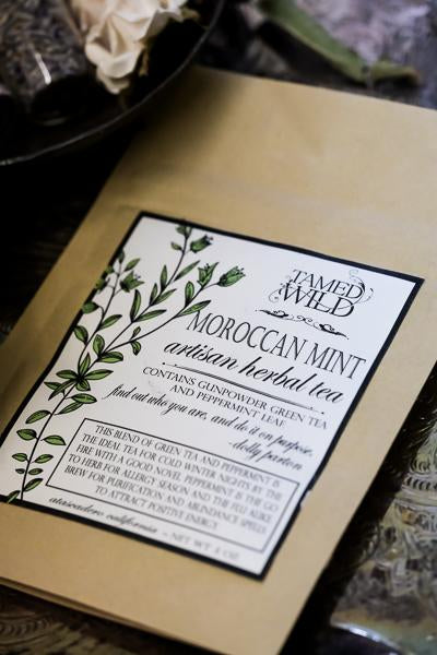 2oz bag of Moroccan Mint Herbal Tea