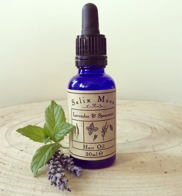 Botanical Hair Oil // Salix Moon Apothecary