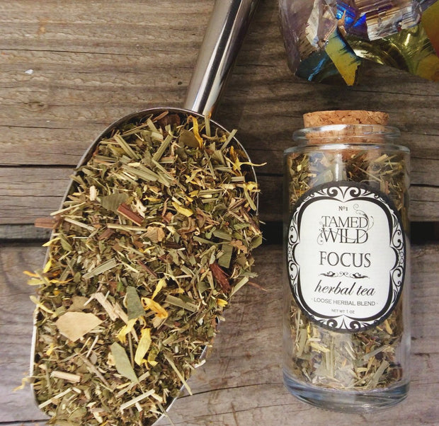 Focus Tea 1 oz Glass Jar