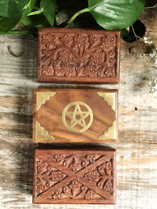 Brass Pentacle Box