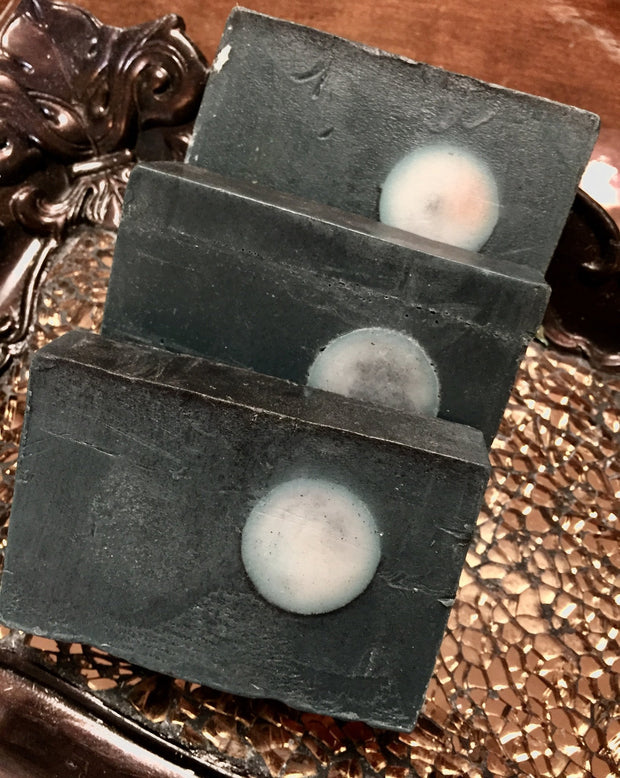 Full Moon Charcoal Soap