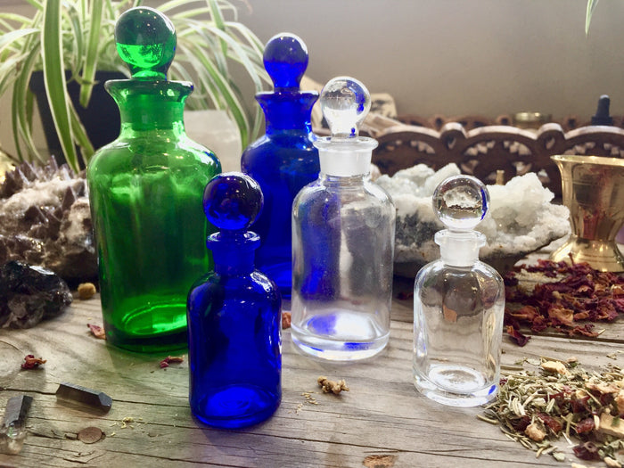 60 ml Clear Apothecary Bottle