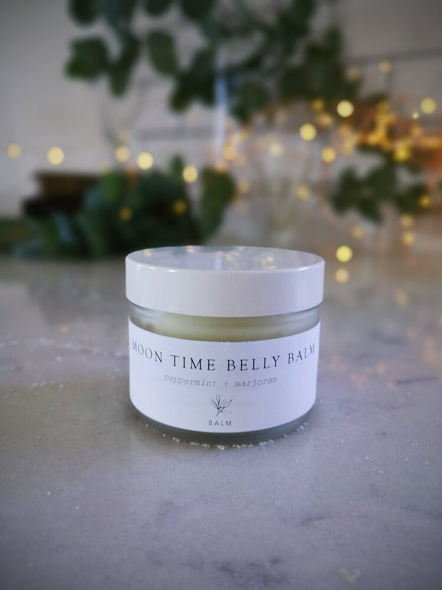 Moon Time Belly Balm //  Forage Botanicals