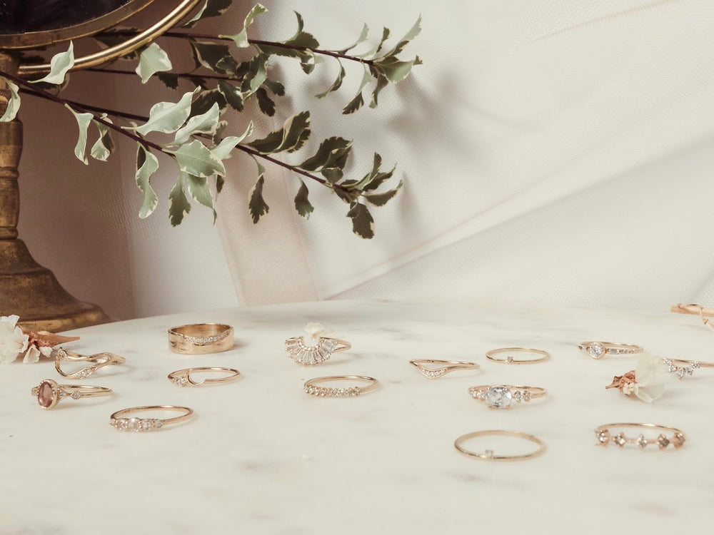 Curated 14kt Rings // Collection by Lane & Kate