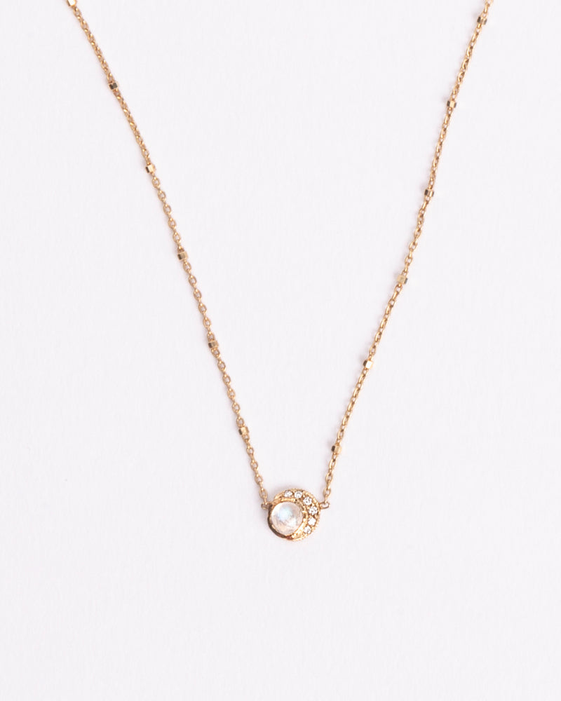 BABY MOON NECKLACE