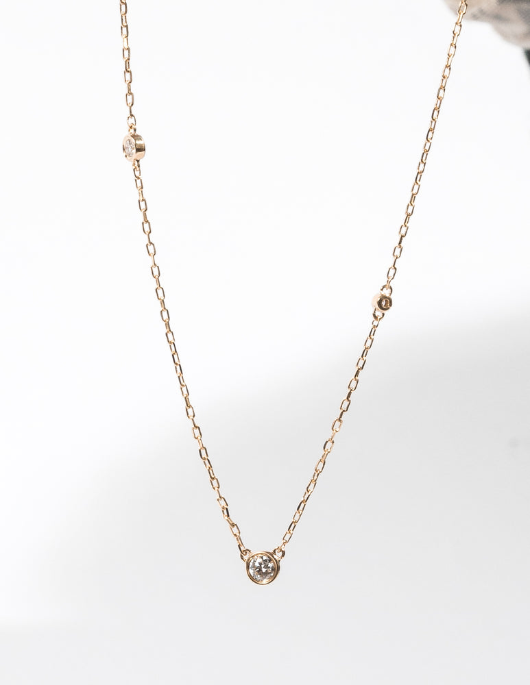 ETERNAL DIAMOND LOVE PENDANT NECKLACE