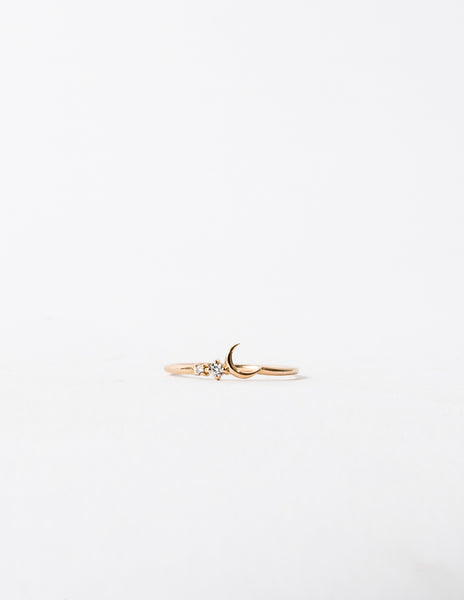 Fly Me To The Moon Ring
