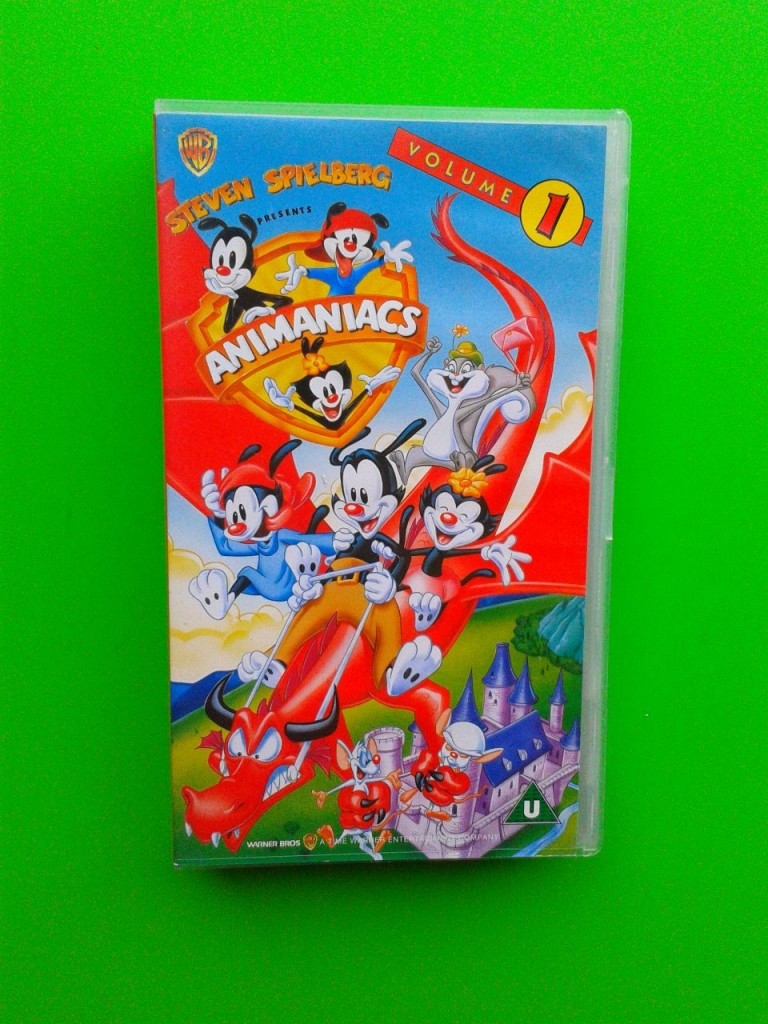 Animaniacs Volume 1 VHS Video