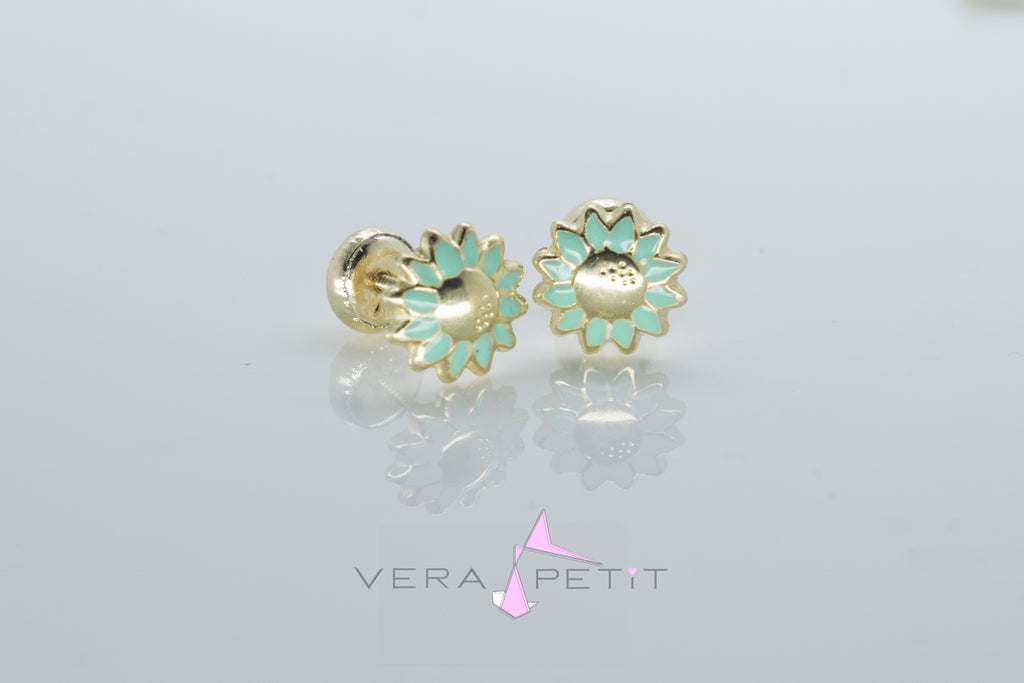 Aretes Margarita Color Bebé