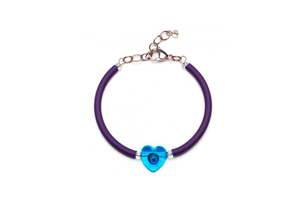 Pulsera Violeta Lovey Antica Murrina