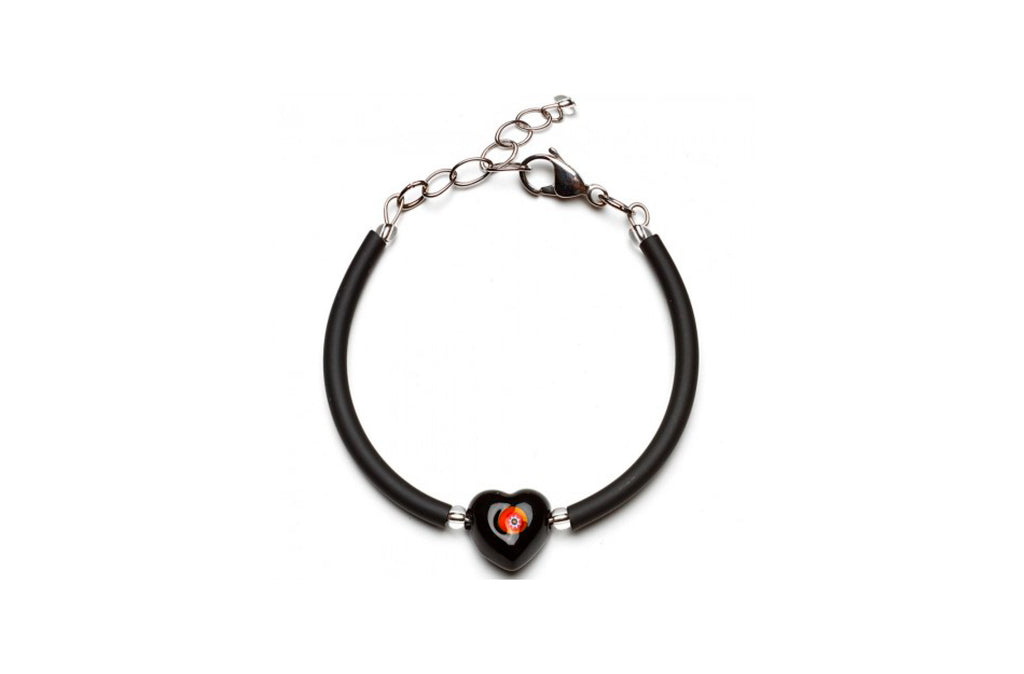 Pulsera Negra Lovey Antica Murrina