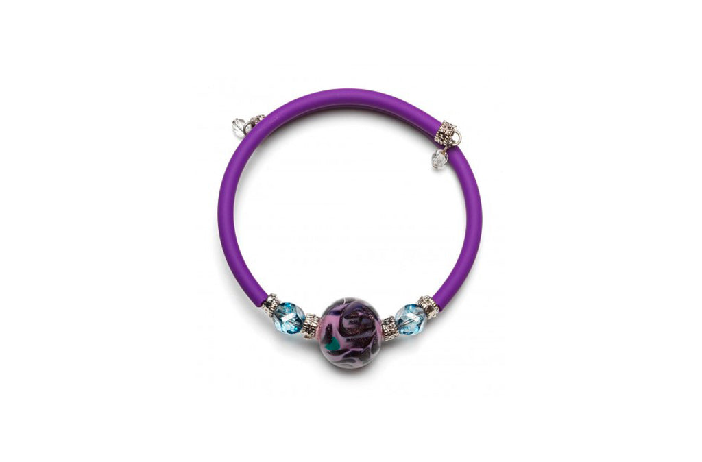 Pulsera Violeta Wellie Antica Murrina