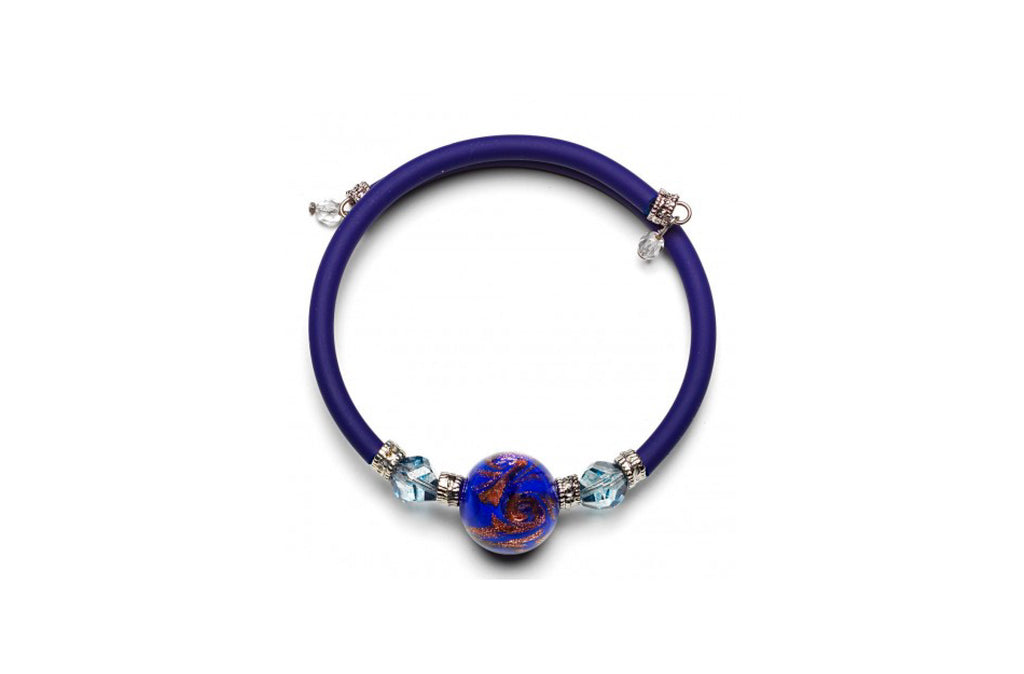 Pulsera Azul Wellie Antica Murrina