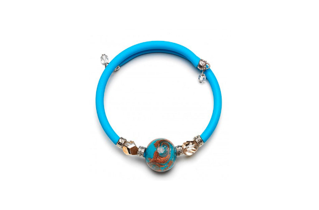 Pulsera Aguamarina Wellie Antica Murrina