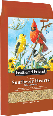 Feathered Friend Sunflower Heart Bird Seed (In Store Purchase Only)