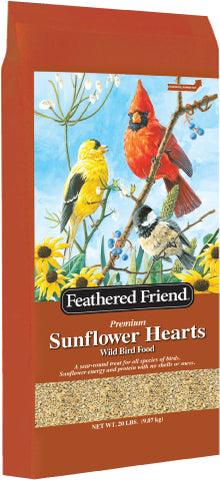 Feathered Friend Sunflower Heart Bird Seed