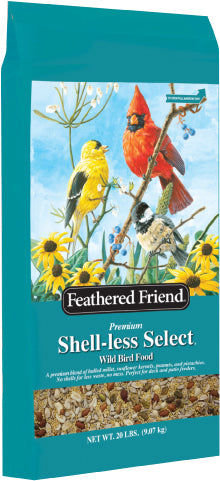 Feathered Friend Shell-less Select 20lb (In Store Purchase Only)