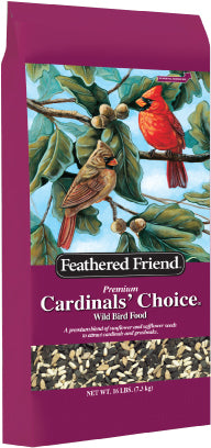 Feathered Friend Cardinals' Choice Bird Seed