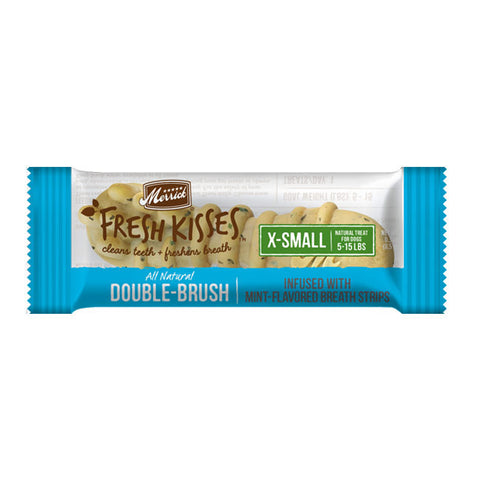 Merrick Fresh Kisses - Infused With Mint-Flavored Breath Strips (XS)