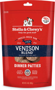 Stella & Chewy's - Venison Blend Freeze-Dried Dinner Patties