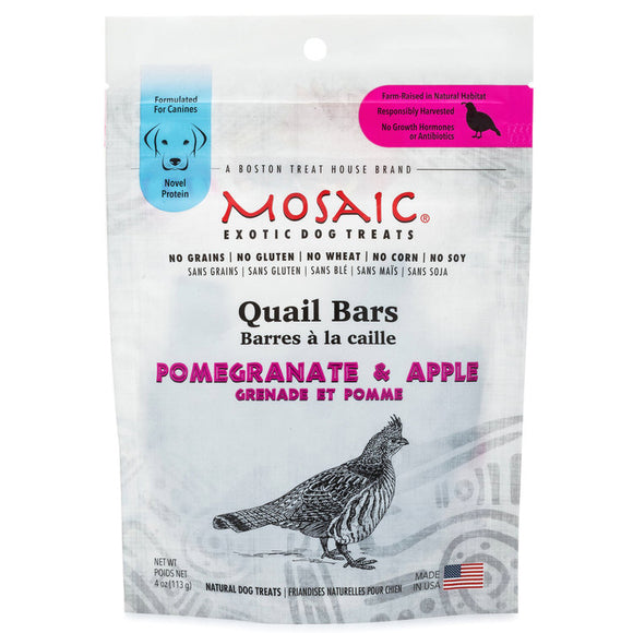 Mosaic Quail Bar Treats