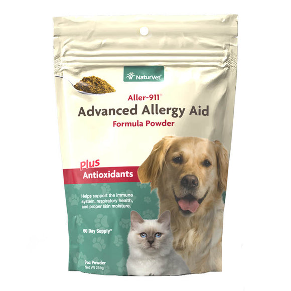 NaturVet Advanced Allergy Aid Powder