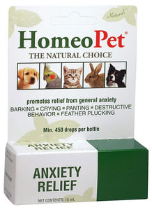 HomeoPet - Anxiety Relief