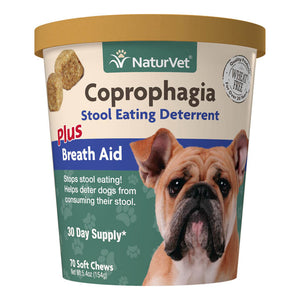 NaturVet Coprophagia Soft Chews