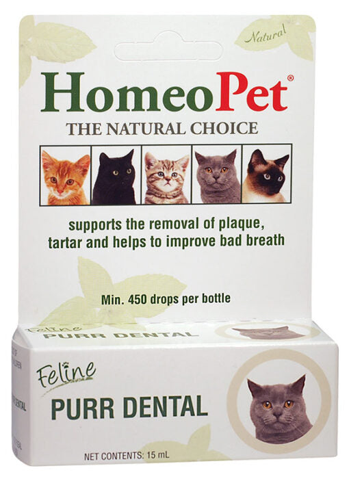 Homeopet - Feline - Purr Dental