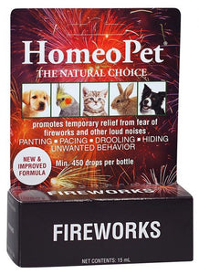 HomeoPet - Fireworks - Anxiety Aid