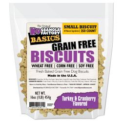 K9 Granola Simply Grain Free Biscuits Turkey & Cranberry