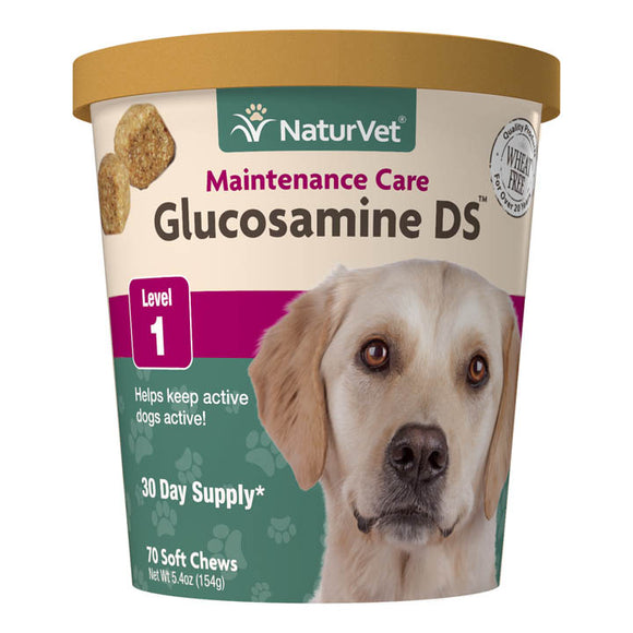 NaturVet Glucosamine DS Soft Chews