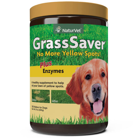 NaturVet GrassSaver Wafers 300ct
