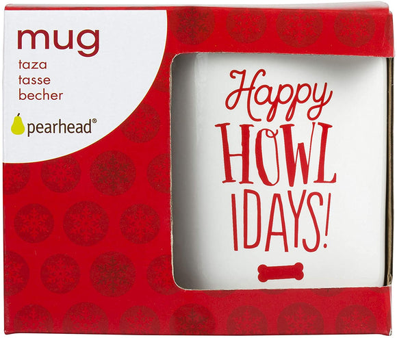 Pearhead Holiday Mugs