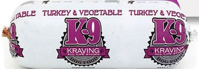 K9 Kraving - Turkey & Vegetable 1# Chub (In Store Only)