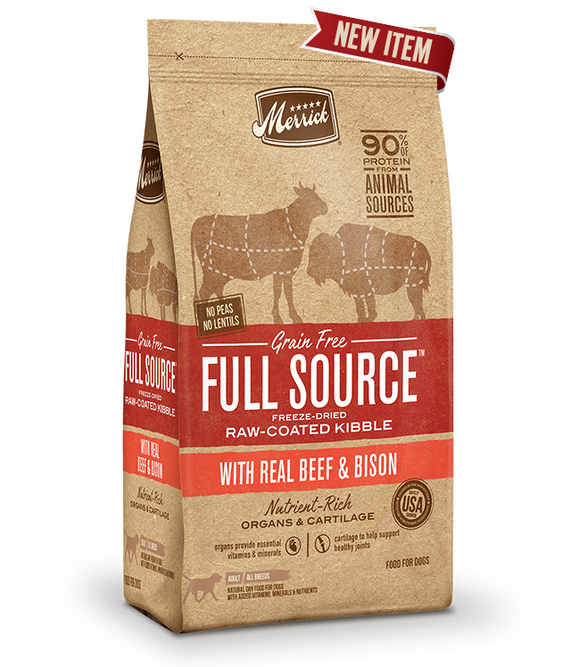 Full Source - Beef & Bison