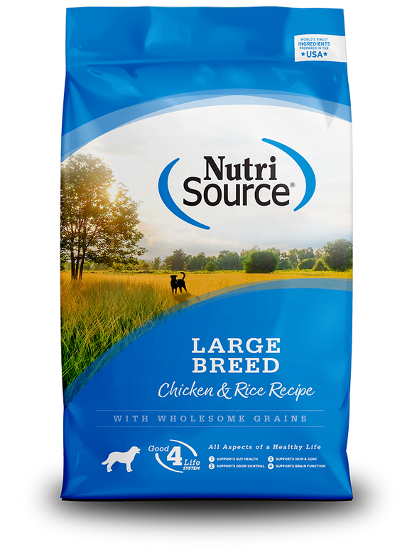 NutriSource - Large Breed Adult Dry Dog Food