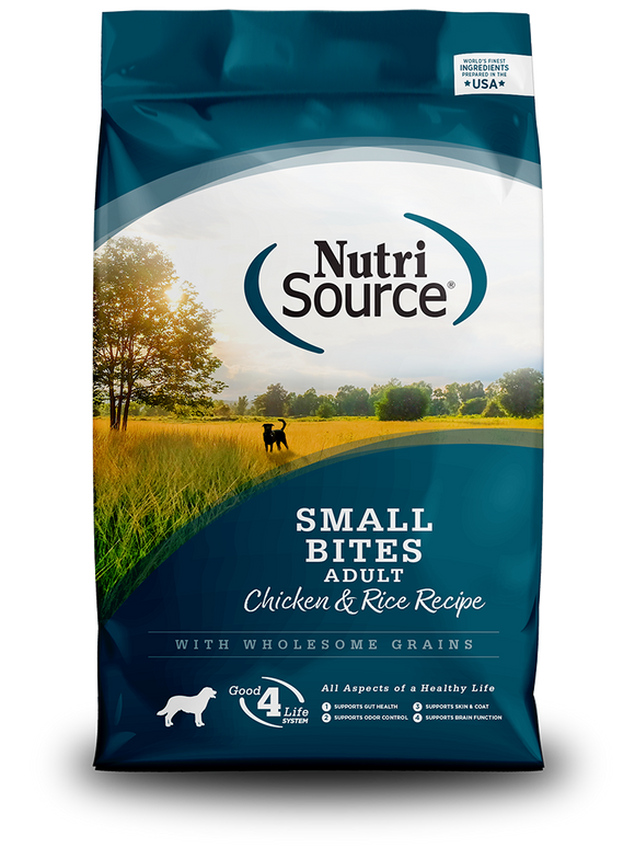 NutriSource - Small Bite Adult Dry Dog Food