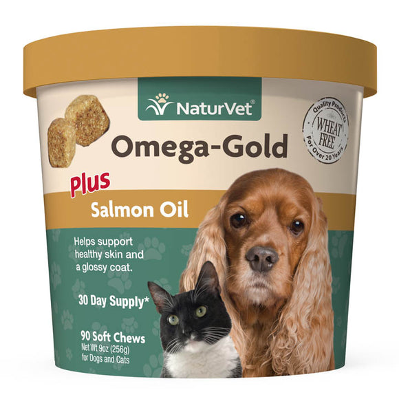 NaturVet Omega-Gold Soft Chews