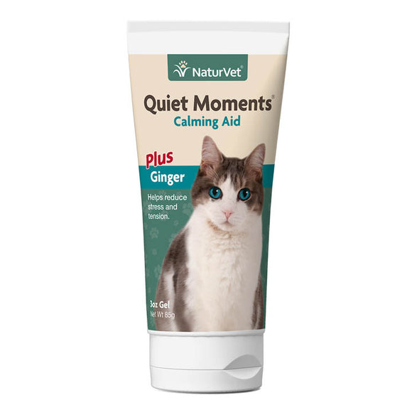 NaturVet Quiet Moments Calming Aid Gel for Cats