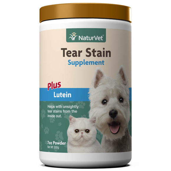 NaturVet Tear Stain Supplement Powder