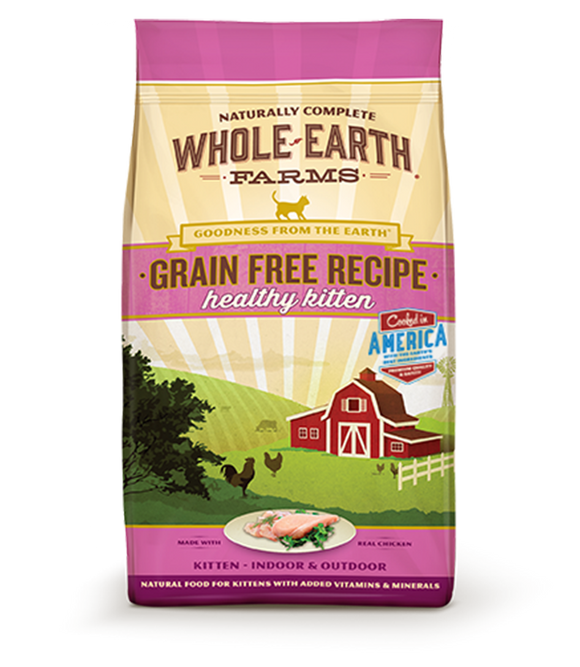 Whole Earth Farms - Kitten Grain Free Dry Food